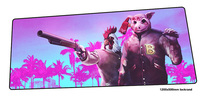 hotline miami mouse pad gamer Professional 120x50cm notbook mouse mat gaming mousepad Domineering pad mouse PC desk padmouse