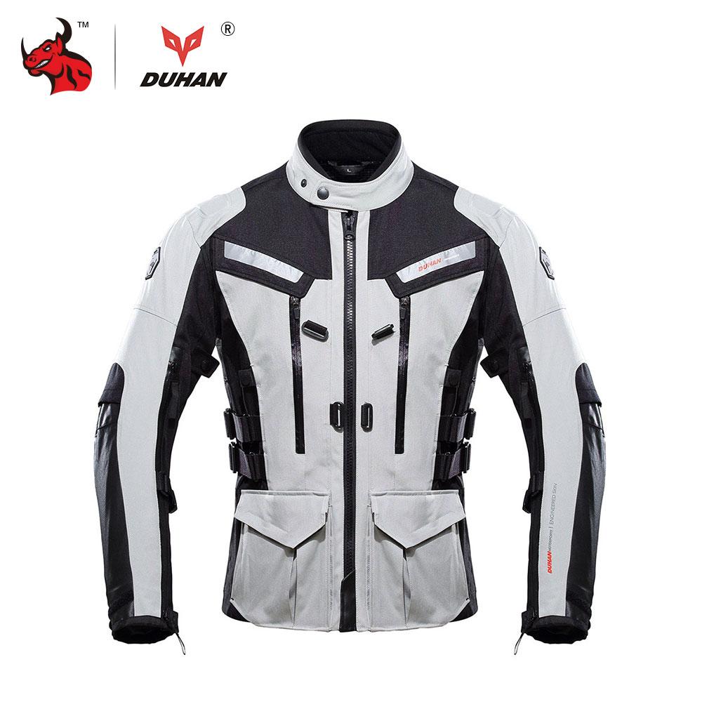 DUHAN Uomini di Motocross Off-Road Giacca Inverno Caldo Impermeabile Giacca Moto Campera Moto Hombre Trajes Para Moto