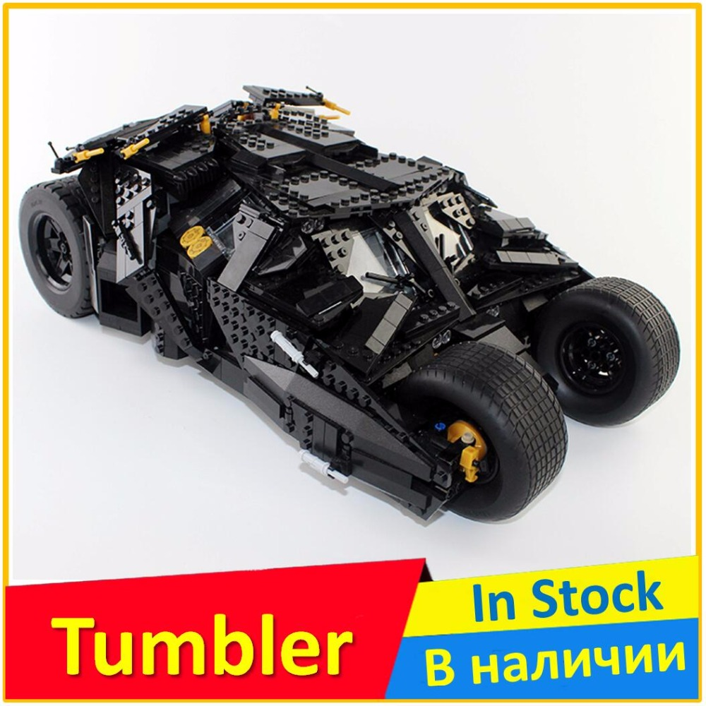 Building Blocks 7111 Black Knight The Tumbler Compatible legoing 76023 Super Heroes 34005 Batman Educational Toys For Children цена