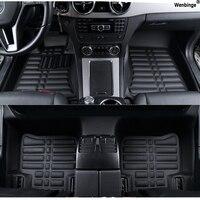 Custom Car Floor Mats For Buick Enclave Encore Envision Excelle GT XT Hideo Regal Lacrosse Ang
