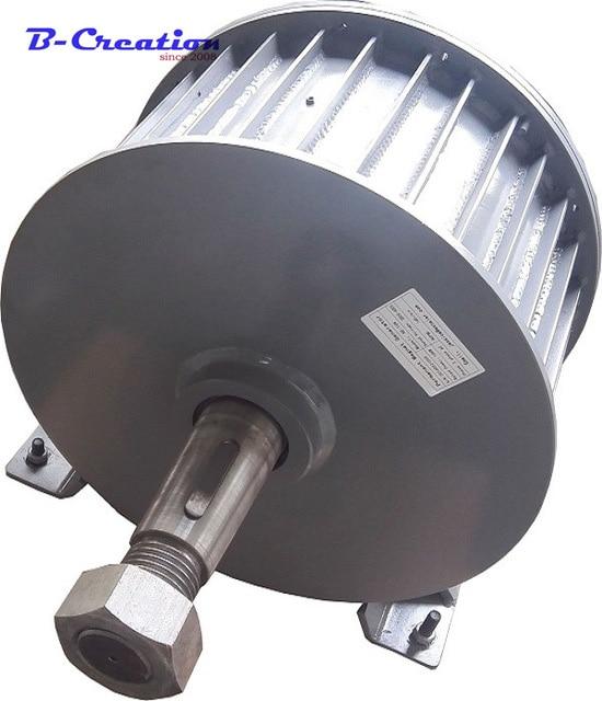 5KW Low RPM AC220V 380V Three Phase Permanent Magnet Generator цена