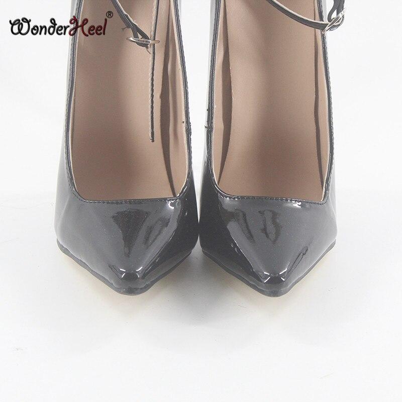 984328ddd88 Wonderheel Extreme high heel 18cm metal heel patent leather 7