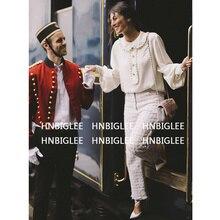 Ziwwshaoyu Europa und die Vereinigten Staaten 2018 herbst neue hemd England  Stil Puff Sleeve Rüschen Elegante und edle Seide hem. be19872eb6