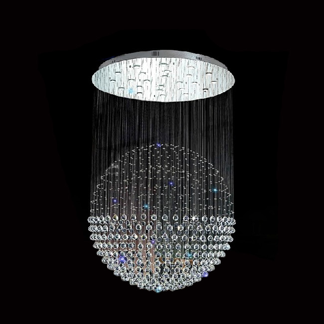 Youlaike Large Modern Crystal Chandelier Lighting Luxury Living Room Dining Led Home Re Hanging Lamp In Chandeliers From Lights