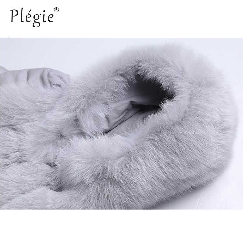 Plegie Hohe Qualität Mit Kapuze Pelz Weste Faux Pelzmantel Frauen 2018 Winter Outwear Platz Faux Pelz Jacke Mit Taschen Kapuze pelz Mantel