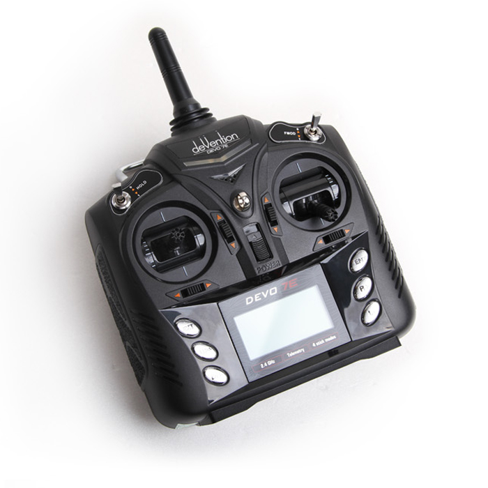 1PCS DEVO 7E Remote Controller 2.4G DSSS Radio Control Transmitter 7CH Channels Remote Controlling for RC Helicopter Quadcopter peter nash effective product control controlling for trading desks