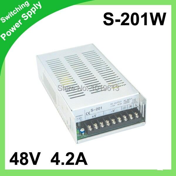 48V 4.2A 200W Switching Power Supply unit for leds,100~240V AC input 12V DC output best quality 12v 15a 180w switching power supply driver for led strip ac 100 240v input to dc 12v