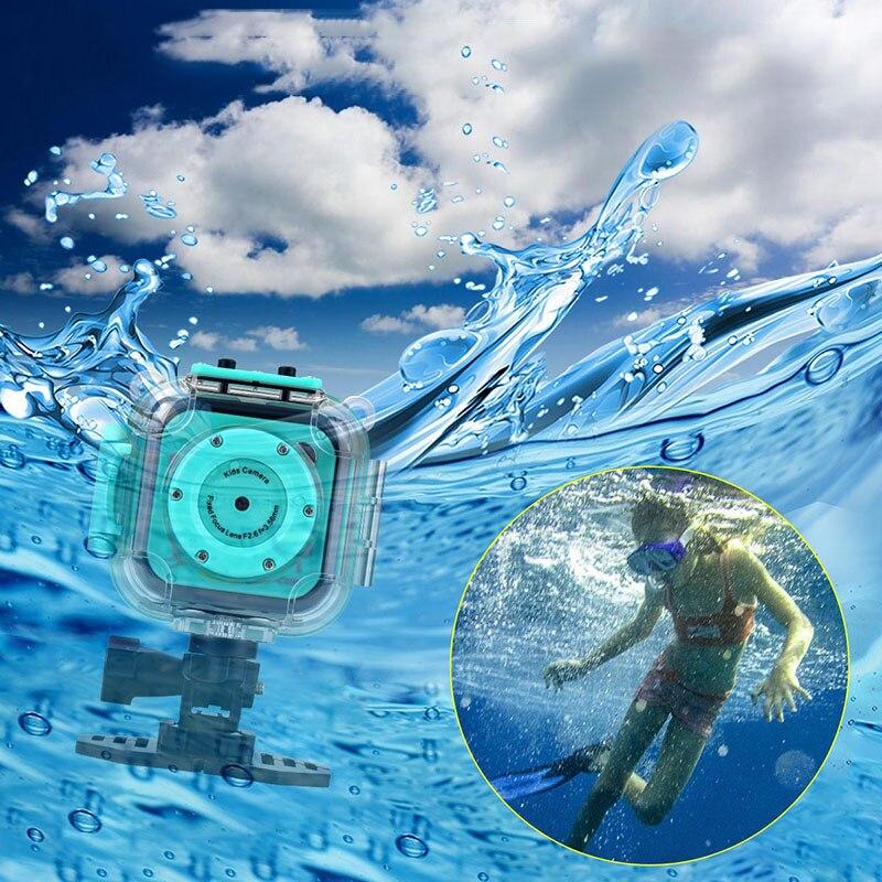 Enfants enfant caméra vidéo numérique jouet juguete 20 M étanche sport action caméra plusieurs langues précieux cadeau de noël P20 - 5