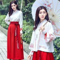 New Chinese Traditional Women Elegant Hanfu Fairy Dress Chinese Vintage Costume Performance Clothing Chinese Ancient Costume