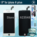 tested For iPhone6 4.7'' for iphone 6 plus 5.5'' LCD Display LCD Touch Screen Digitizer Assembly Replacement + film + tools