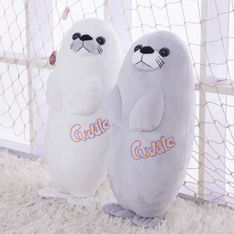 80cm 31 High Quality Sea Lion Plush Toy Soft Stuffed Toy Sea Dog Plush Pillow Birthday Gift Wholesale And Retails 2pcs 12 30cm plush toy stuffed toy super quality soar goofy