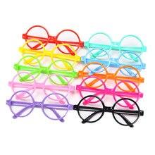 Kacamata Frame untuk Anak-anak Gelas Plastik Permen Warna Anak-anak Lucu  Bingkai Kacamata Polos Kacamata Gadis Mata Fame Kacamat. 49d8043c4c