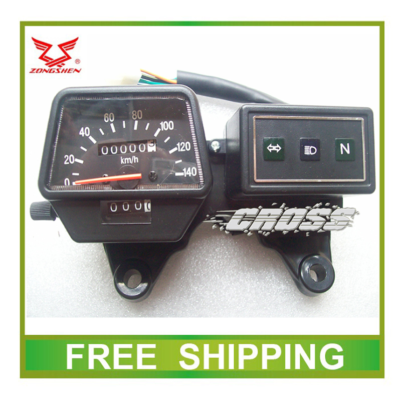 цена на LZX200GY-2 ZS200GY zongshen 200cc dirt bike dirtbike speedometer odometer instrument motorcycle accessories free shipping