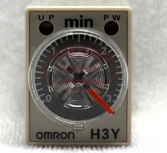 Time relay H3Y-4 DC24V 3M minutes schneider time relay rexl4mbd dc24v