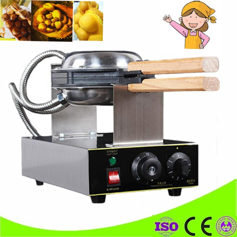 Egg Puff Machine HK Style Eggettes Waffle Maker;Egg Waffle Iron;Bubble Waffle Wafer Machine;Electric Eggettes Waffle Maker directly factory price commercial electric double head egg waffle maker for round waffle and rectangle waffle