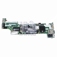 FRU 04X5168 Notebook PC Motherboard For Lenovo Thinkpad X240 Main board VIUX1 NM-A091 i3 CPU onboard