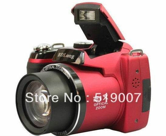 """2013 New&cheapest 16M CCD digital camera with 21X optical zoom and 3.0""""color LCD  DC-D5000 D5000,Free Shipping"""