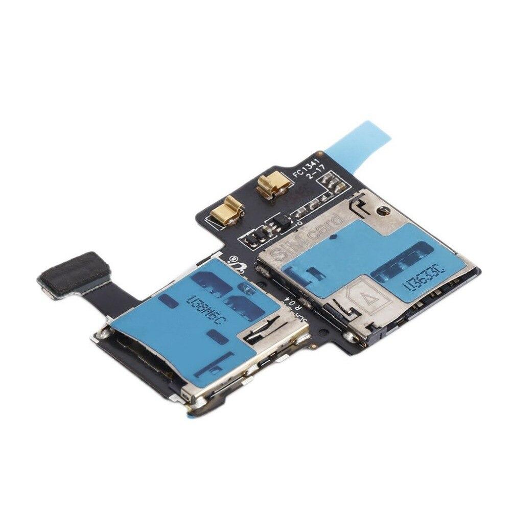 Универсальный гибкий кабель разъема зарядки USB устройство чтения карт памяти sim-держатель лотка Шлейф для samsung Galaxy S4 i9505