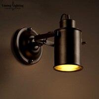Vintage Loft Wandleuchten Eisen Metall Wand Leuchten Land Klassischen Wohnzimmer Schlafzimmer Rural Retro Dekorative Wandleuchten Lampen