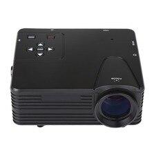 Crenova nuevo proyector 640×480 píxeles 800 lúmenes full hd proyector de cine en casa 1080 p proyección mini led de vídeo proyector