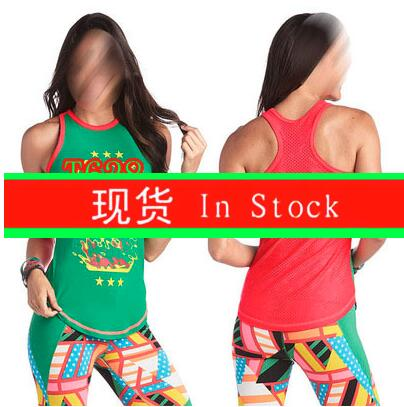 S M L Woman vest Running Tank racerback Training Exercise T shirts yoga clothes T628 Green