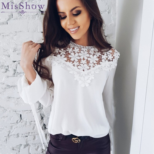 Sexy white blouse