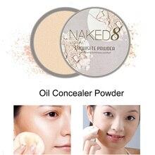 Pressed-Powder Concealer Makeup Face Oil-Control Shimmer Dark-Skin Waterproof for Moisturizing
