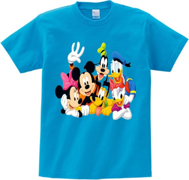 7f7efc89 Kids T shirt Funny Mickey print T-shirt boy/girl Mouse Short Sleeves t shirt  2018 summer children/baby leisure tees camiseta N