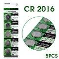 + Frete Grátis + + Venda Quente + Frete grátis 5 Pcs 3 V Células de Lítio Coin Botão Bateria DL2016 KCR2016 BR2016 LM2016 CR2016 53