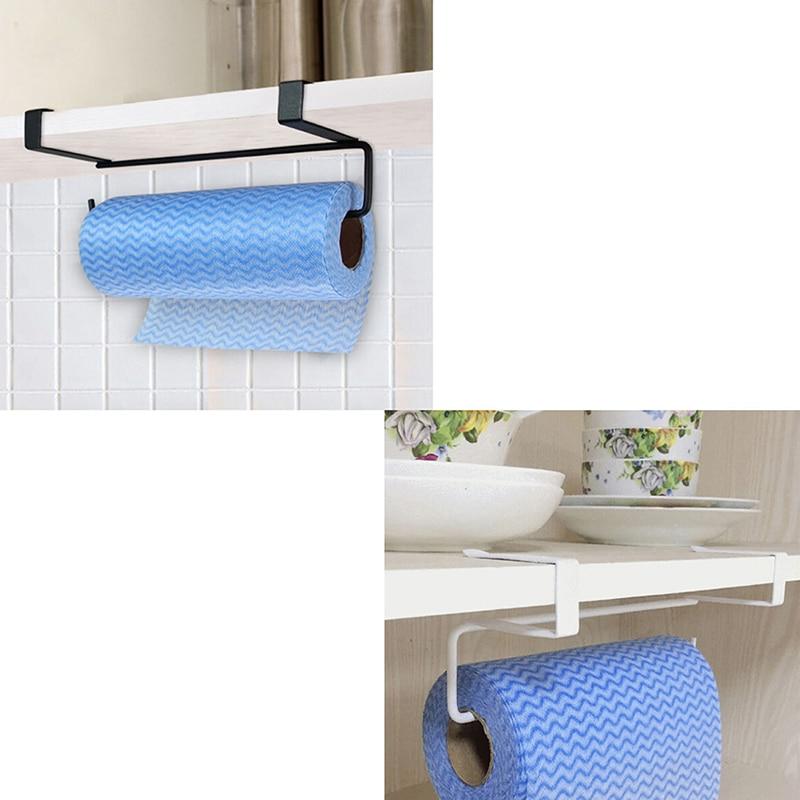 Bathroom Fixtures 2019 New Paper Towel Holder Adhesive Paper Towel Holder Under Cabinet For Kitchen Bathroom #nn0220 Bathroom Hardware