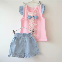 Summer Baby Girl Clothing Set