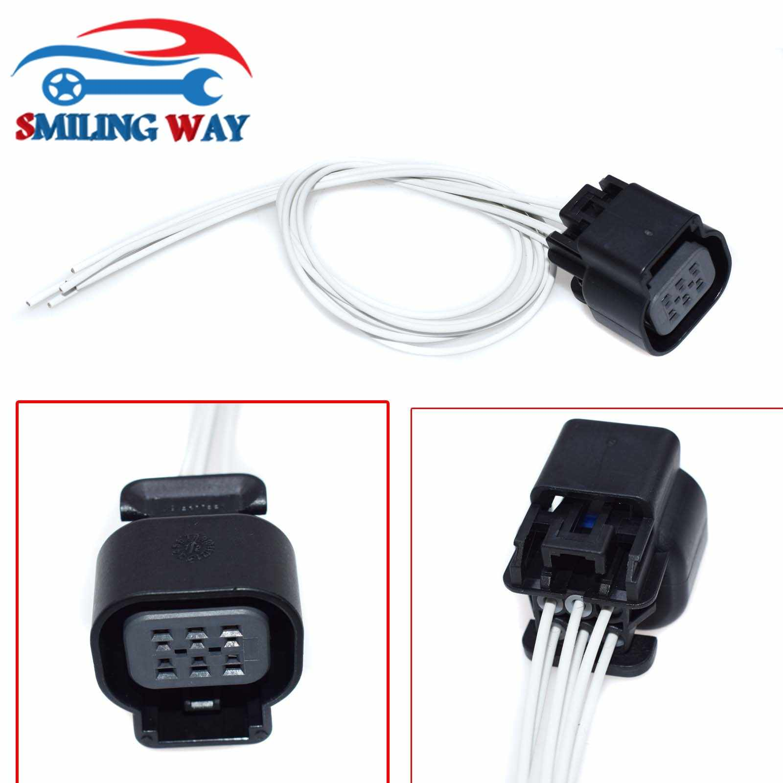 detail feedback questions about smiling way# ls2 ls3 ls7 throttle body  actuator connector wire harness wiring pigtail plug for most gm v8 engines  6 pins on