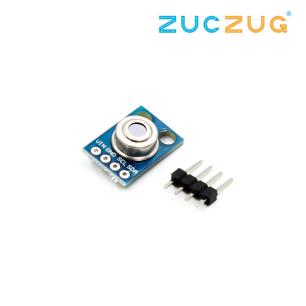 GY-906 MLX90614ESF New MLX90614 Contactless Temperature Sensor Module For CompatibleGY-906 MLX90614ESF New MLX90614 Contactless Temperature Sensor Module For Compatible