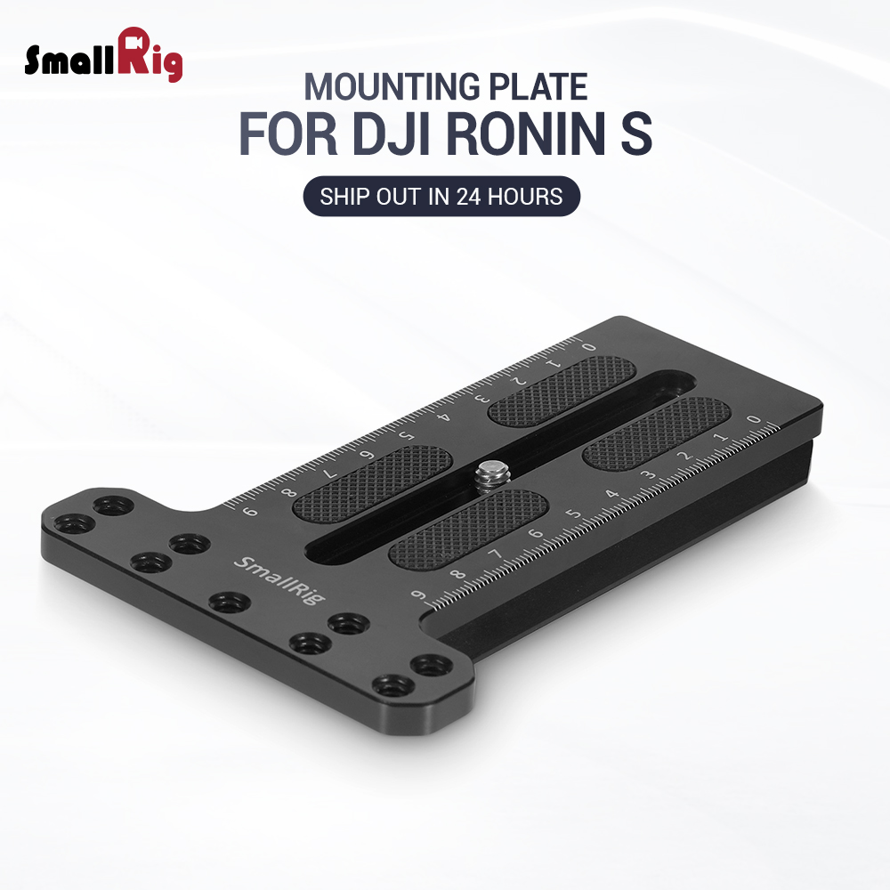 SmallRig BMPCC 4k Camera Counterweight Mounting Plate For DJI Ronin S Gimbal For Sony / For Canon /For Nikon Camera  2308