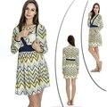Mamalove мода одежда для беременных беременным платье грудное вскармливание платья престарелых одежды кормящих платья для беременных женщин