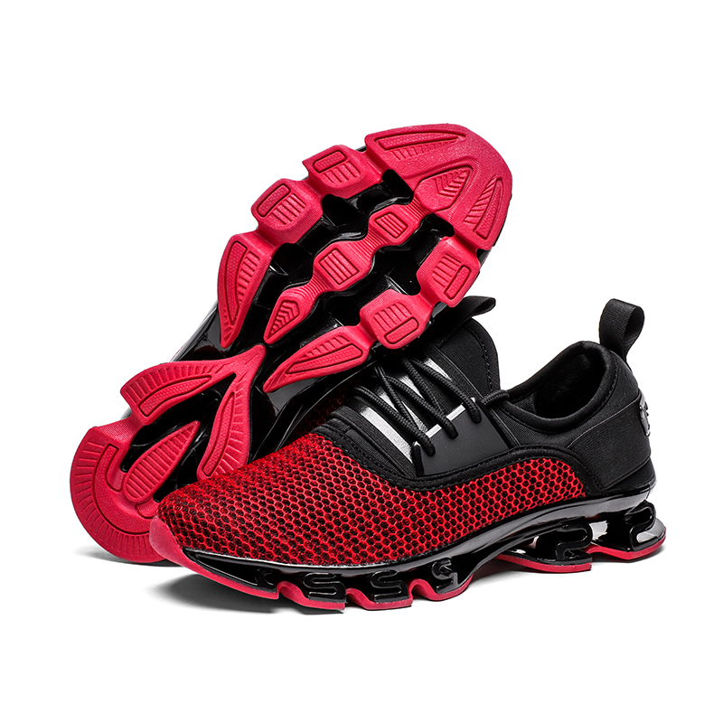 Breathable running shoes men sneakers bounce damping summer outdoor sport shoes Professional Training shoes BIG size 45