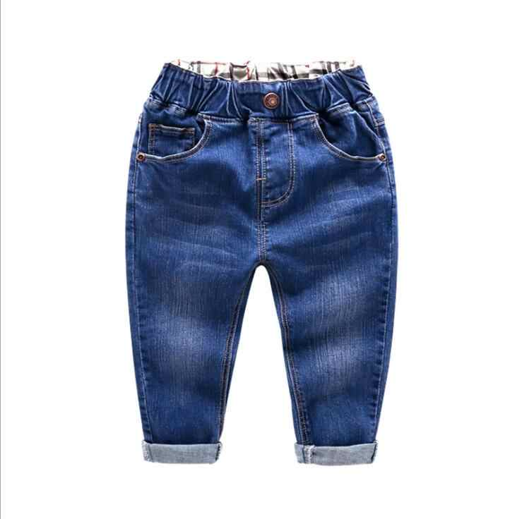 กางเกงยีนส์เด็กชายฤดูใบไม้ผลิฤดูใบไม้ร่วงกางเกงยีนส์เด็กเสื้อผ้าเด็กผู้หญิง DENIM ทารกกางเกงเด็กกางเกงกางเกงยีนส์ชาย