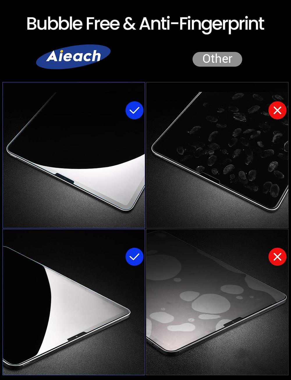 6D folia ochronna na ekran z zakrzywionymi krawędziami dla iPad Pro 11 10.5 9.7 ochronne szkło hartowane na dla iPad 2017 2018 powietrza 1 2 mini 2 3 4 1