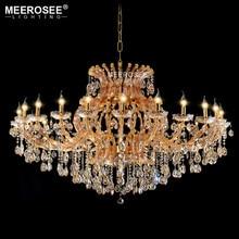 цены на Projct Lamp Large Luxury Amber Crystal Chandelier Lighting Crystal Light Hotel Restaurant Lustres Lights Luminaria Maria Theresa  в интернет-магазинах