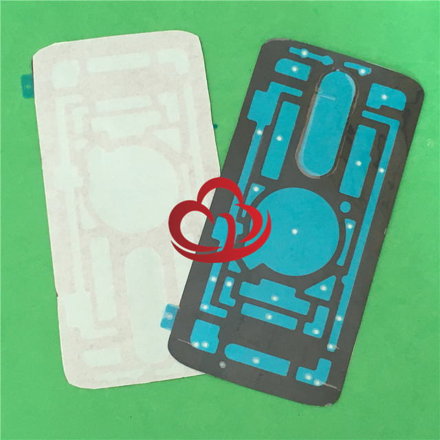 2pcs Original Sticker Adhesive Glue Tape For Motorola Droid Turbo 2 XT1585 XT1580 XT1581 X Force Battery Cover Back Rear Door
