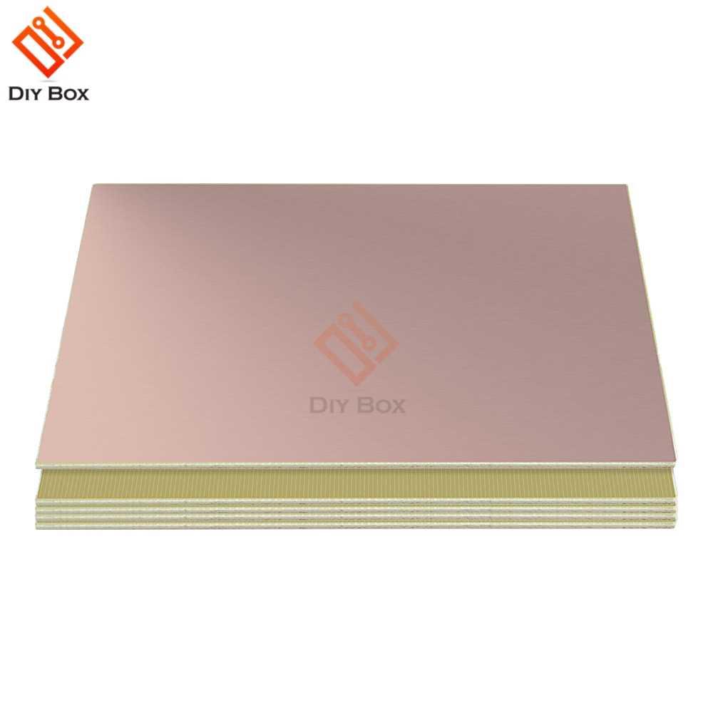 2 PCS 10x15 centímetros Único Lado PCB Placa De Cobre Revestido de Laminado FR4 1.2 MILÍMETROS 10x15 CENTÍMETROS