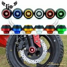Защита колес мото rbike краш-колодки красочный протектор мото rcycle краш-защита мото крест краш-накладка рама колеса слайдер мото