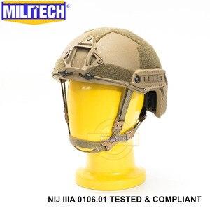 Image 2 - Новый пуленепробиваемый арамидный баллистический шлем CB NIJ IIIA 3A с сертификатом ISO, 2019, быстрая работа XP Cut, гарантия 5 лет