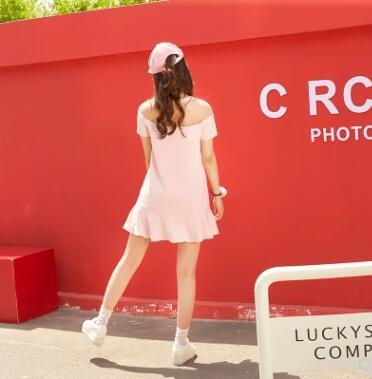 Et Institut Robe Princesse Glace Vc147 Doux Brodé Maille Printemps Épaule Sweet Couture Lolita Femmes D'été Rose Crème gRqwTnY1Iw