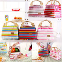 Insulated Cooler Lunch Bag Picnic Storage Box Work Men/Women Kids School Box School Office Picnic Thermal Cooler Zip Carry Tote(China)