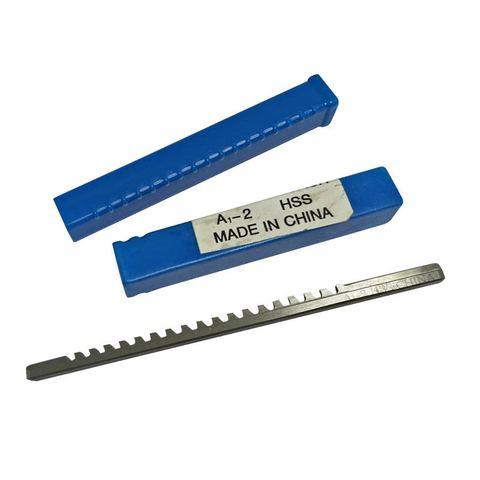 Métrica de Aço de Alta Feito sob Medida para Máquina de Corte um tipo Push-tipo Keyway Broach Velocidade Ferramenta 2mm Cnc Mod. 134202