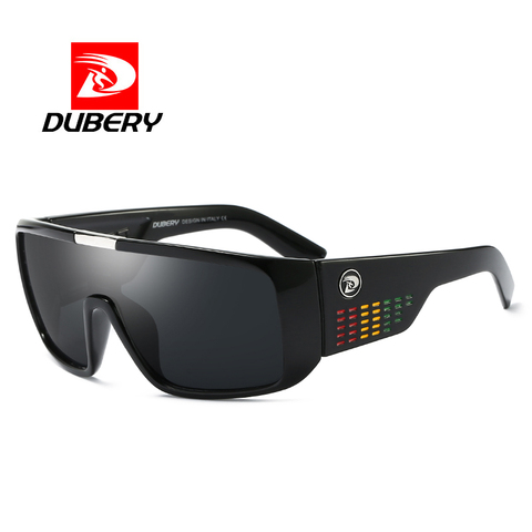 DUBERY Vintage Retro Big Oversized Shield Sunglasses Men Coating Mirror Driving Sun Glasses 2018 Eyewear Male Goggles Multan