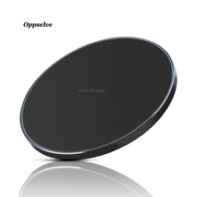 Oppselve Qi Wireless Charger For iPhone X 8 8 Plus Samsung Galaxy S8 S9 Note 8 S8 S7 S6 Edge Desktop Fast Wireless Charging Pad