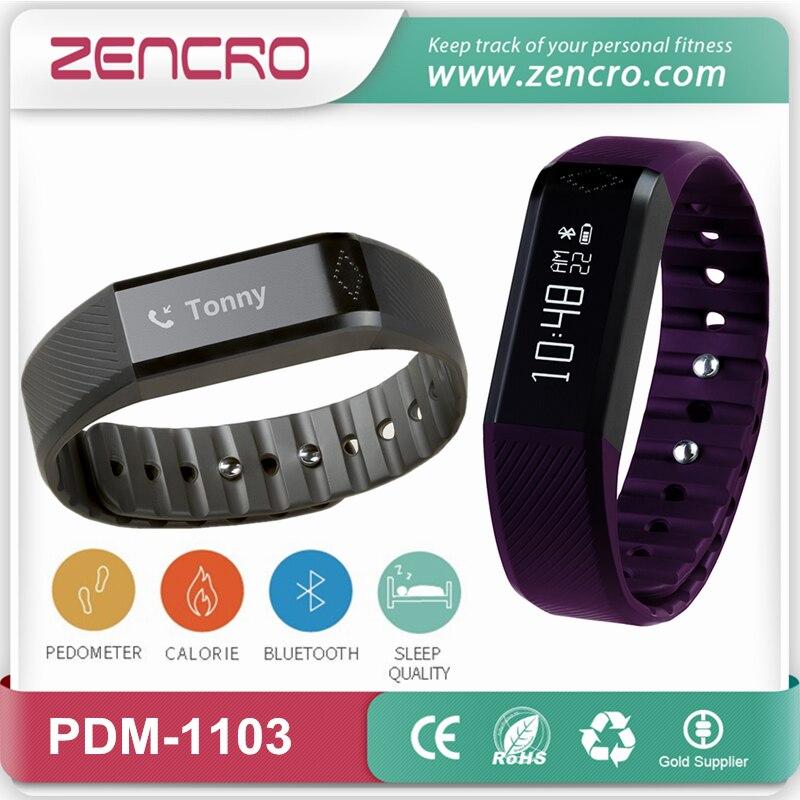Bluetooth Calorie Counter Pedometer Sleep Monitor font b Smart b font Bracelet Wristband