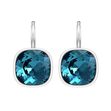 Xuping Fashion Wholesale Crystals Earrings For Women From Swarovski Platinum Plated Jewelry Charm Design Gift M1-XE2115